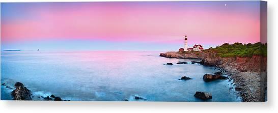 Portland Lighthouse Canvas Print - Portland Lighthouse by Emmanuel Panagiotakis