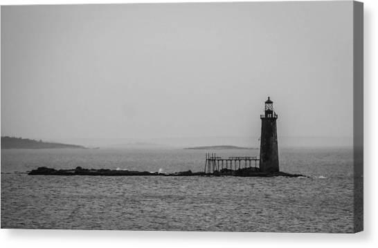 Portland Maine Lighthouse  Canvas Print