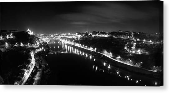 Porto @ Night Canvas Print