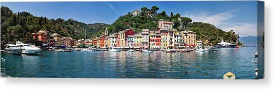 Portofino Big Panorama Canvas Print by Phooey