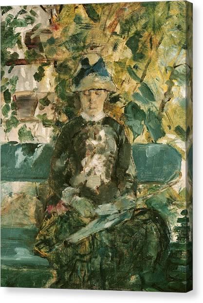 Adele Canvas Print - Portrait Of Adele Tapie De Celeyran by Henri de Toulouse-Lautrec