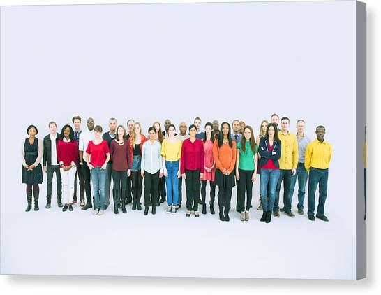Portrait Of Business People Canvas Print by Caiaimage/Robert Daly