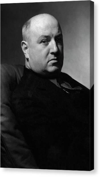 Democratic Politicians Canvas Print - Portrait Of James Aloysius Farley by Edward Steichen