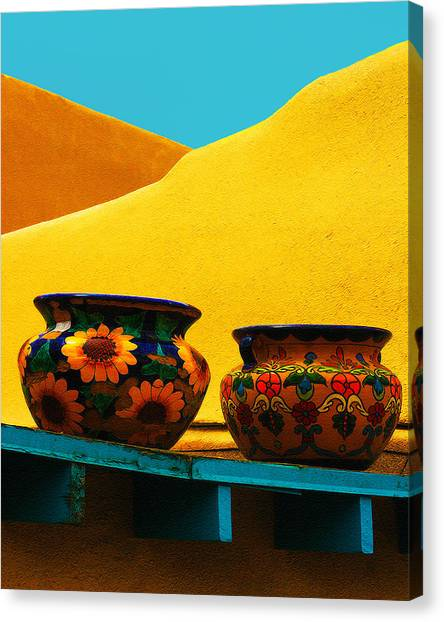 Portrait Of Taos Canvas Print