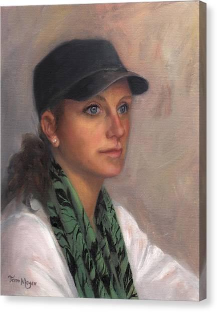 Portrait Of Taylor IIi Canvas Print by Terri  Meyer