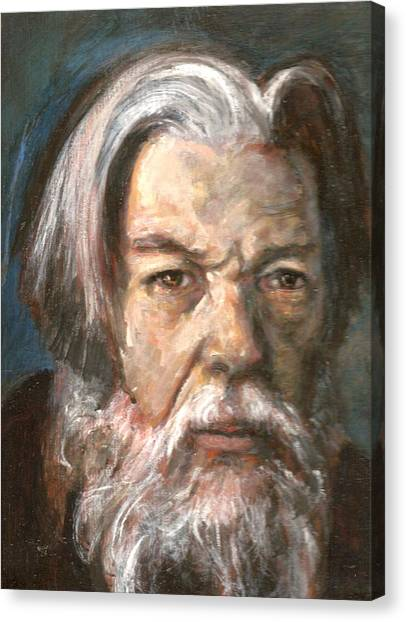Portrait Of The Artist Canvas Print