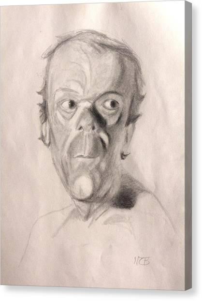 Portrait Study 3 Canvas Print