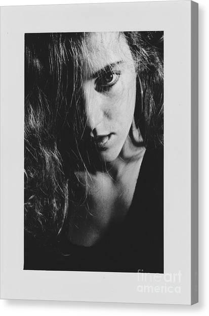 Portrait Woman Canvas Print