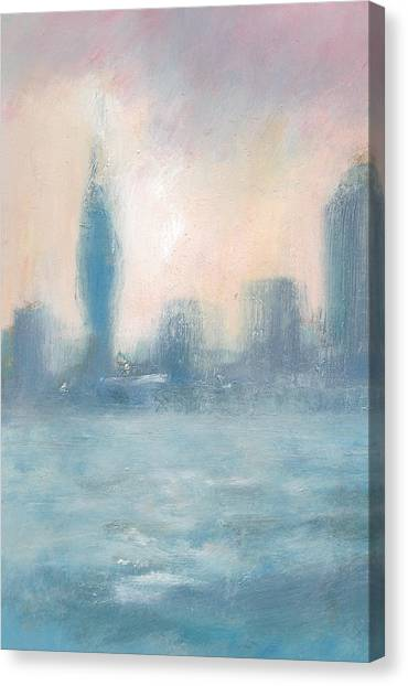 Portsmouth Dawn Part One Canvas Print by Alan Daysh