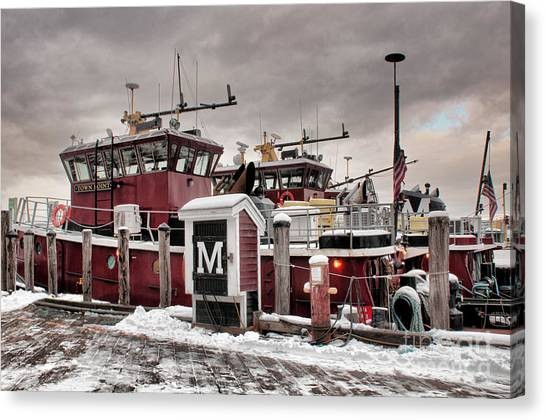 Portsmouth Tugboats Canvas Print