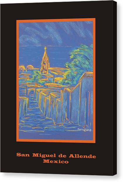Poster - From The Heights Canvas Print by Marcia Meade