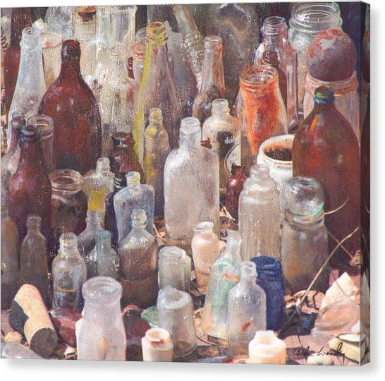 Potions And Elixirs Canvas Print
