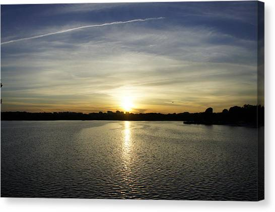 Potomac Sunset Canvas Print