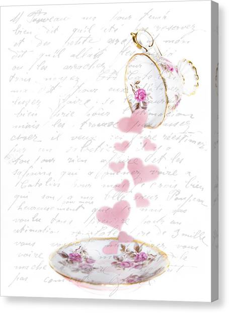 Pouring My Heart Out Canvas Print