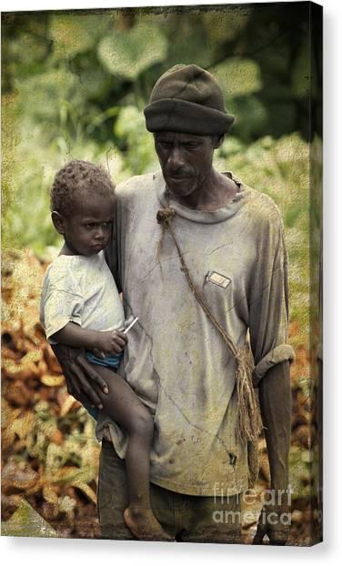Poverty Canvas Print