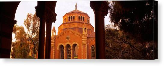 Ucla Canvas Print - Powell Library At An University Campus by Panoramic Images