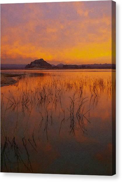 Powell Sunrise 1 Canvas Print