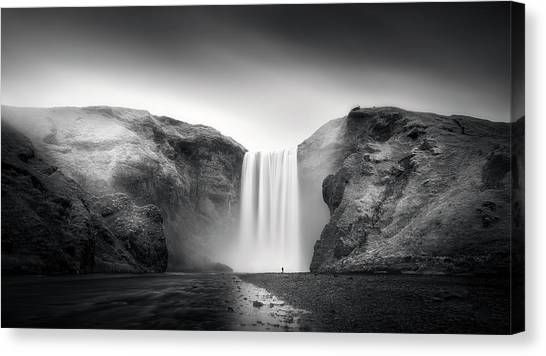 Powerful Canvas Print - Power And Humility by Stefan Mitterwallner