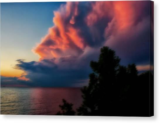 Power Cloud Canvas Print
