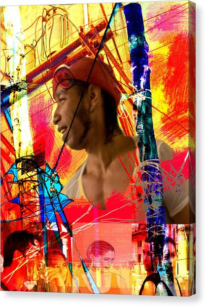 Power Of Cuba 1 Canvas Print