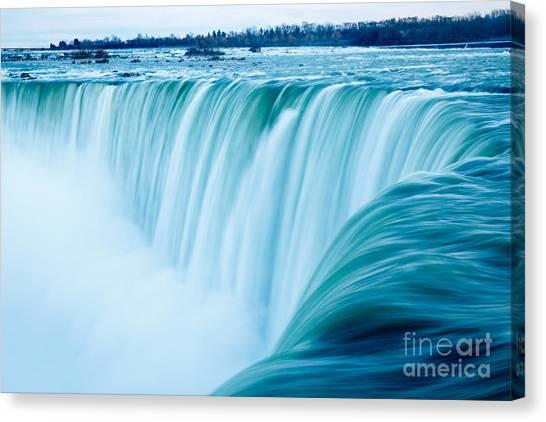 Power Of Niagara Falls Canvas Print