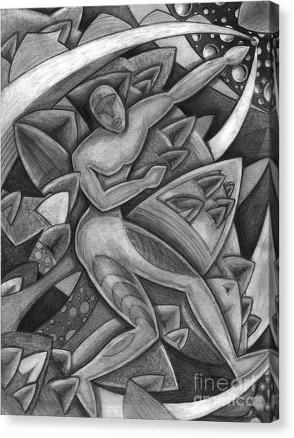 Power Of The Dance - Reach Canvas Print