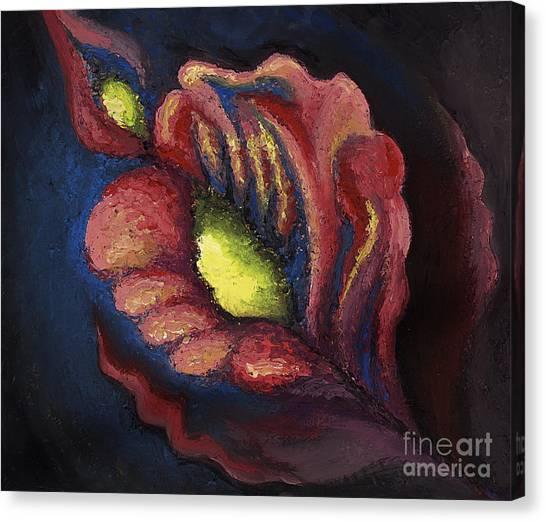 Power Petal Canvas Print