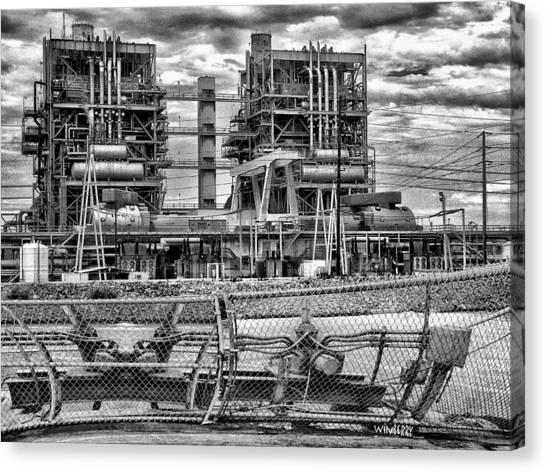 Power Plant In Long Beach Canvas Print