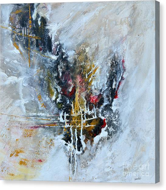 Powerful - Abstract Art Canvas Print