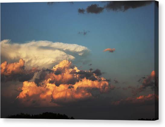 Powerful Cloud Canvas Print