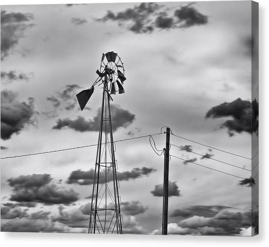 Powerless Canvas Print by Alan Tonnesen
