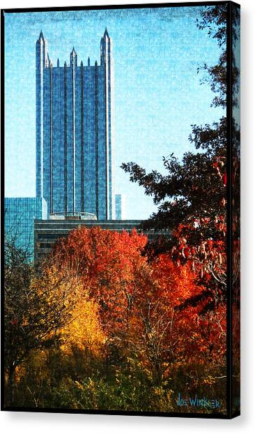 Ppg In Autumn Canvas Print
