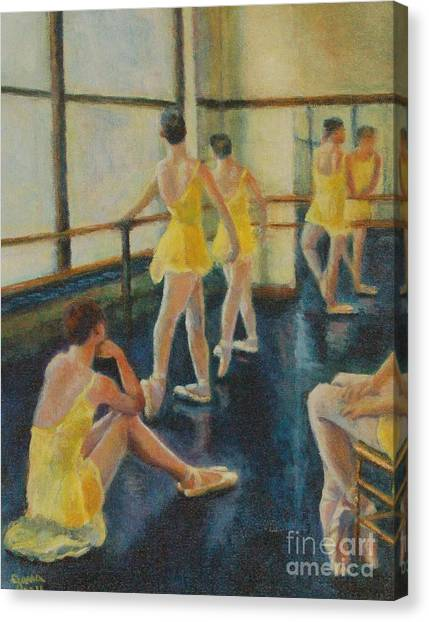 Practice Canvas Print by Jana Baker