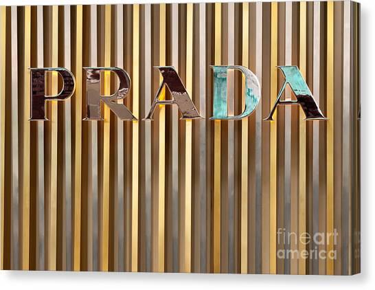 Prada 01 Canvas Print