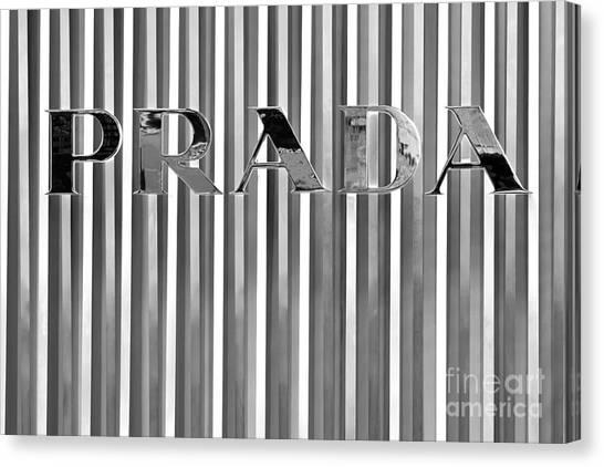 Prada 02 Canvas Print