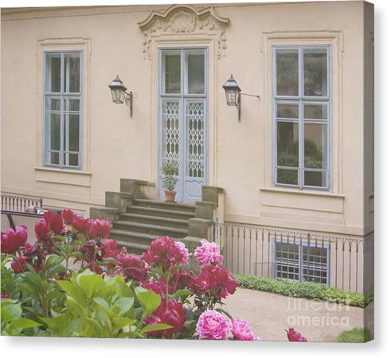Prague Gardens Canvas Print