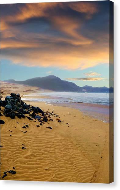 Praia Do Salamansa Africa Canvas Print