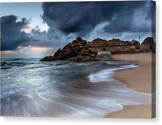 Praia Formosa Canvas Print