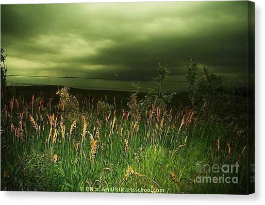 Prairie Clouds Canvas Print
