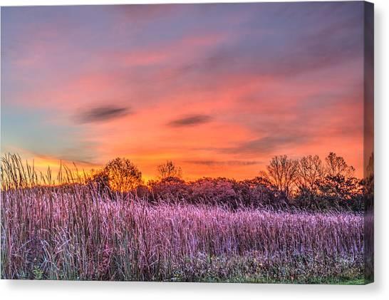 Moraine Hills State Park Moments Before Sunrise Canvas Print