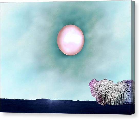 Prairie Moon Canvas Print