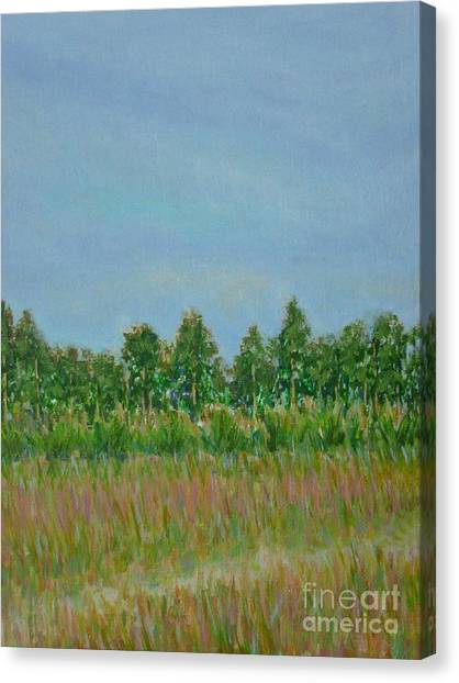 Prairie Morning Light Canvas Print