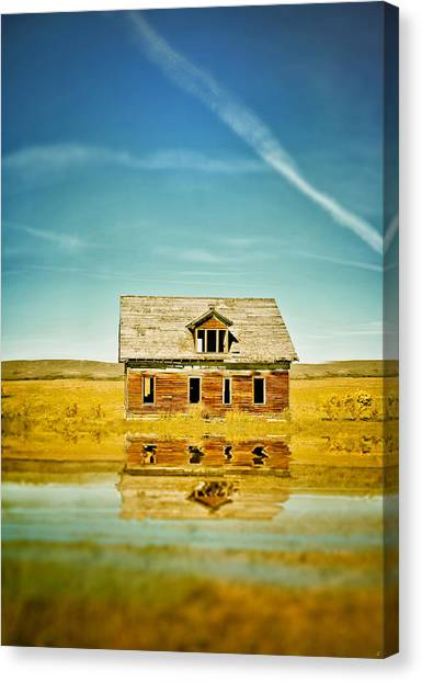 Drywall Canvas Print - Prairie Oasis by Starlux  Productions