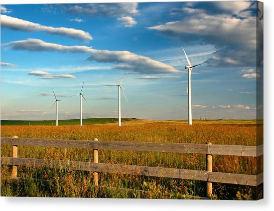 Prairie Wind 1 Canvas Print