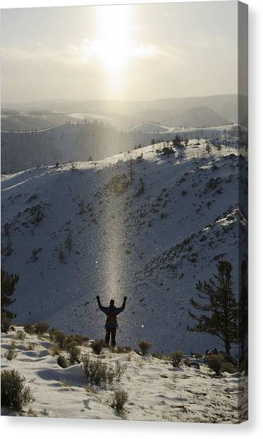 Praise Canvas Print by Aaron Bedell