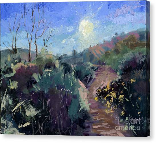 Sold Praise For The Morning  Canvas Print