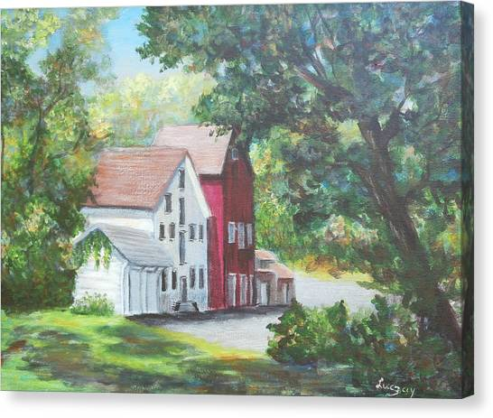Prallsville Mill  Canvas Print