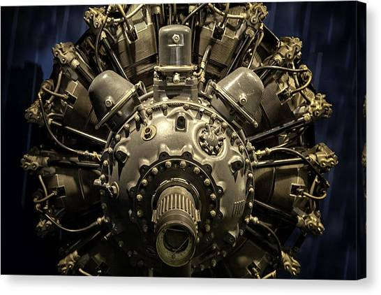 Pratt And Whitney R-2800 Double Wasp Canvas Print