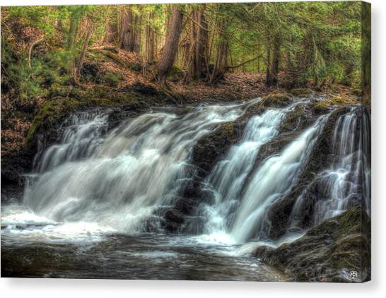 Pratt Brook Falls Canvas Print