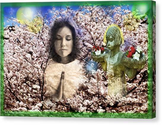 Pray For Peace Canvas Print